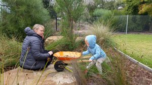 Montessori garden play